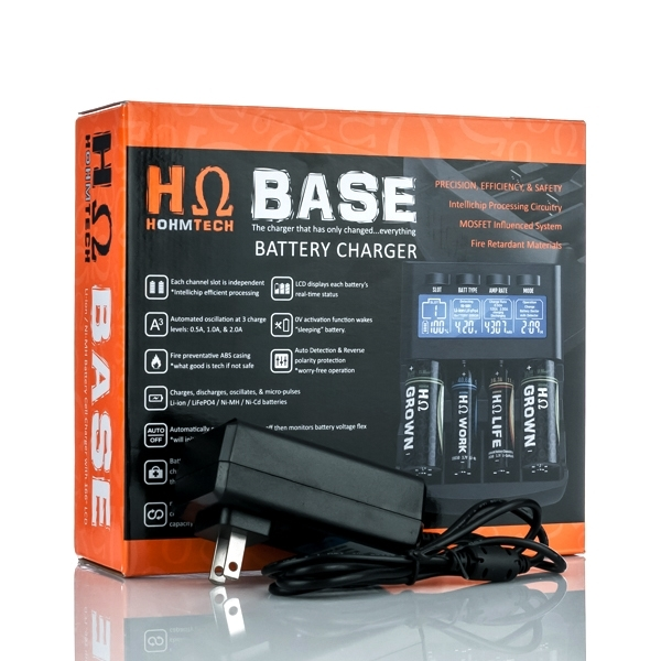 HOHMBASE CHARGER 4 BAY W/ BATTERY DOCTOR