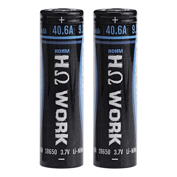 HOHM Work 18650 2531mAh Flat Top Battery